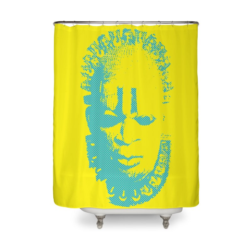 Benin Mask Home Shower Curtain by felapopart's Artist Shop