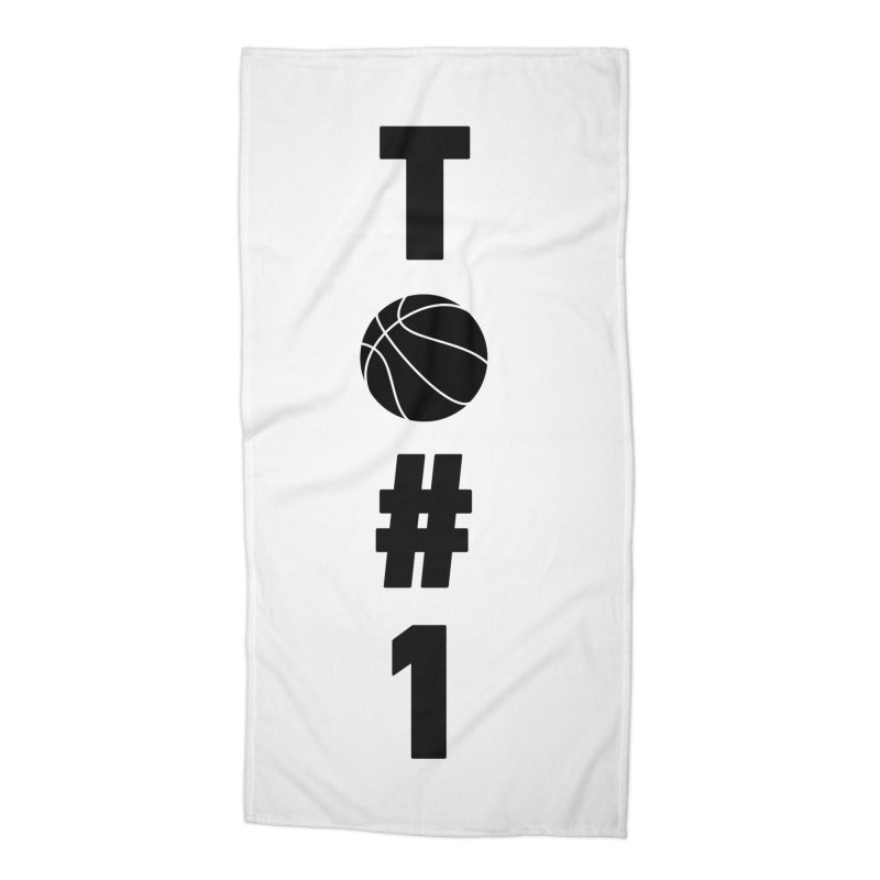 TO#1 Accessories Beach Towel by toast designs