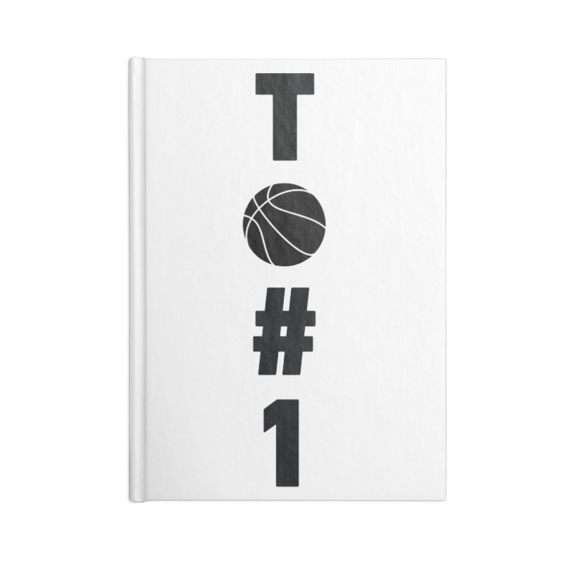 TO#1 Accessories Lined Journal Notebook by toast designs