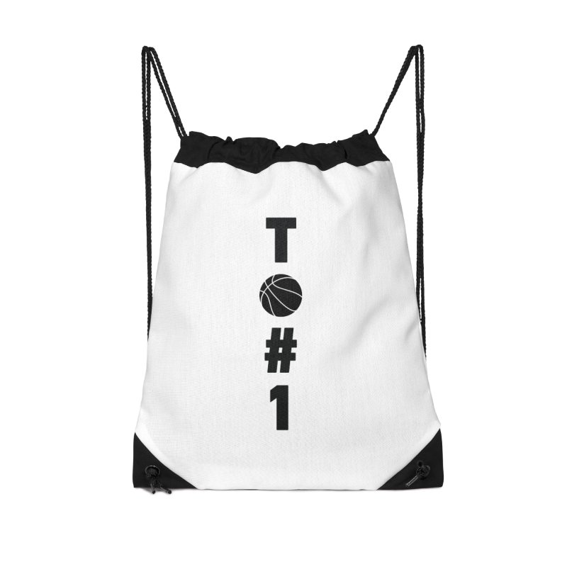 TO#1 Accessories Drawstring Bag Bag by toast designs