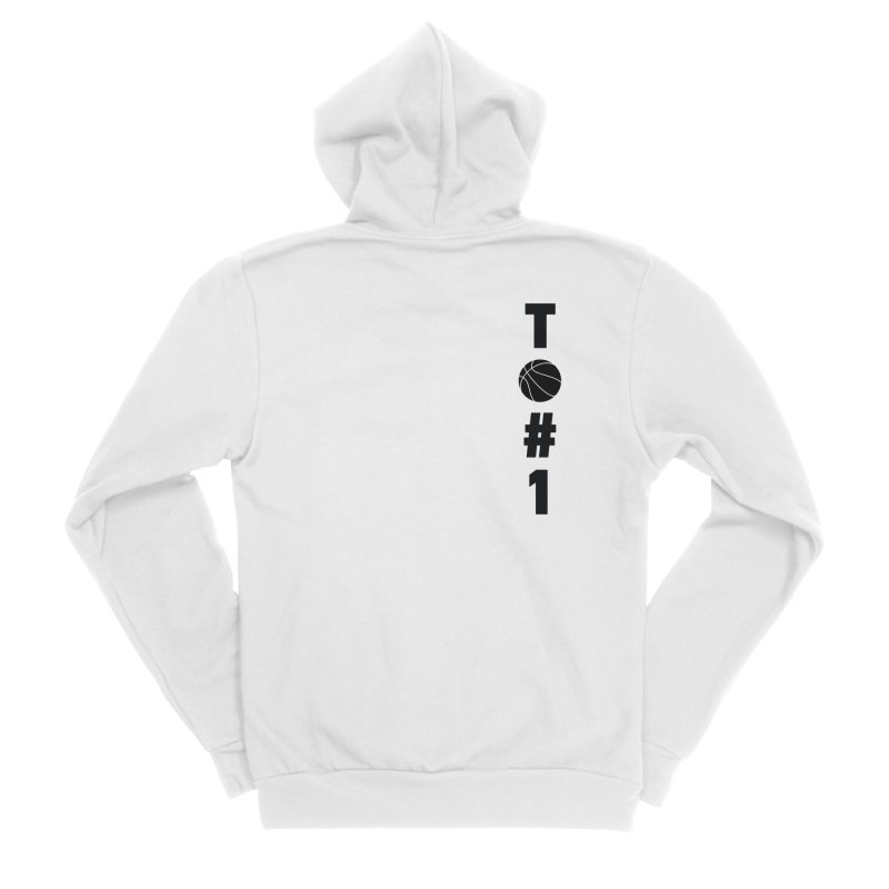 TO#1 Women's Sponge Fleece Zip-Up Hoody by toast designs