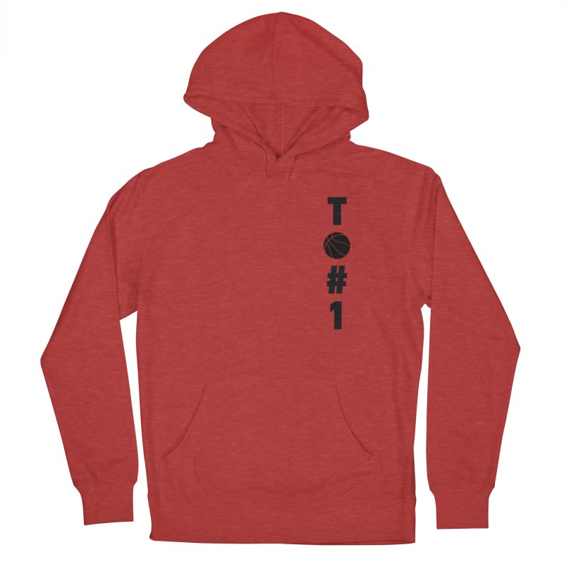 TO#1 Men's French Terry Pullover Hoody by toast designs
