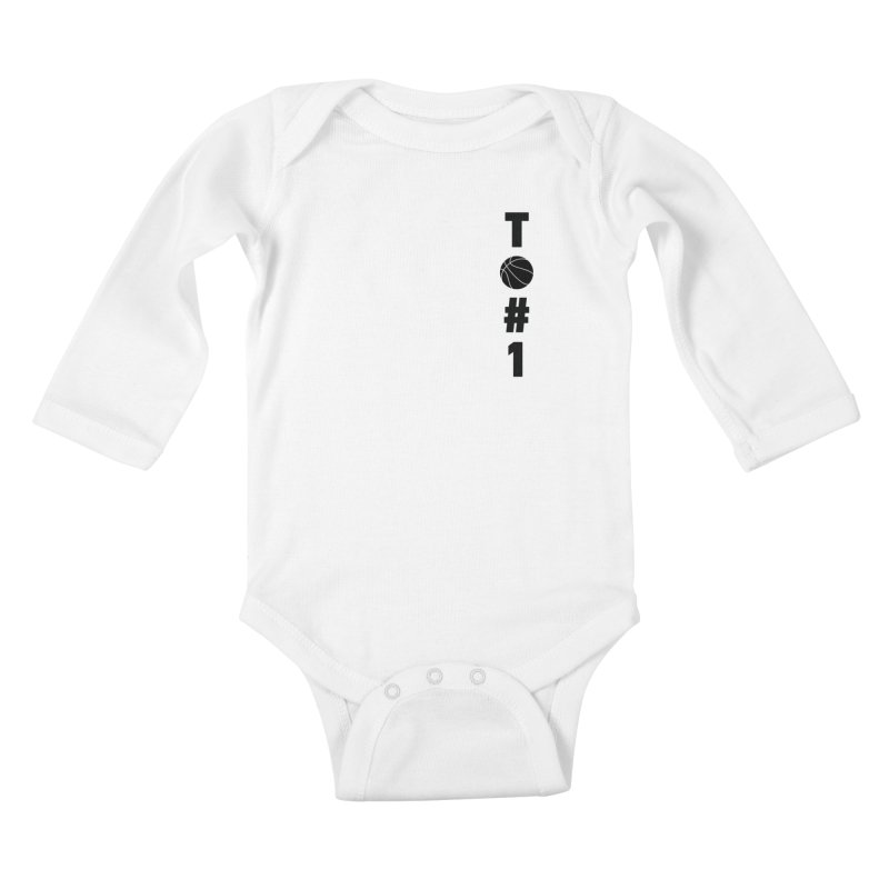 TO#1 Kids Baby Longsleeve Bodysuit by toast designs