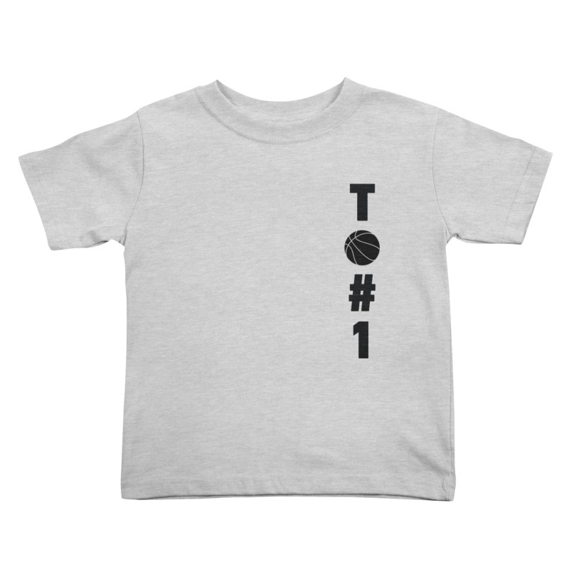 TO#1 Kids Toddler T-Shirt by toast designs