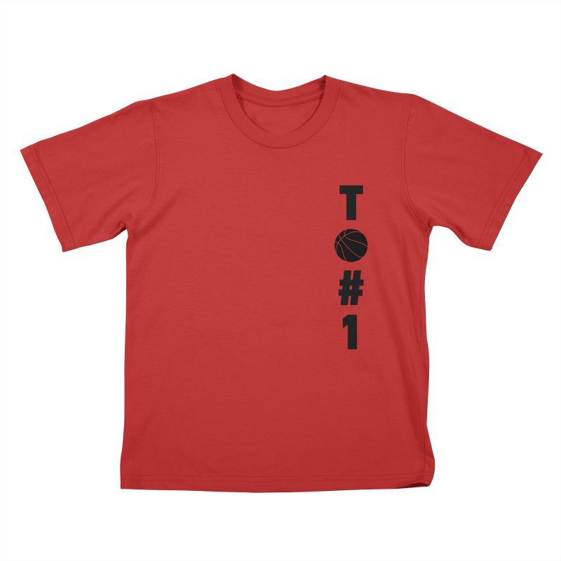 TO#1 Kids T-Shirt by toast designs