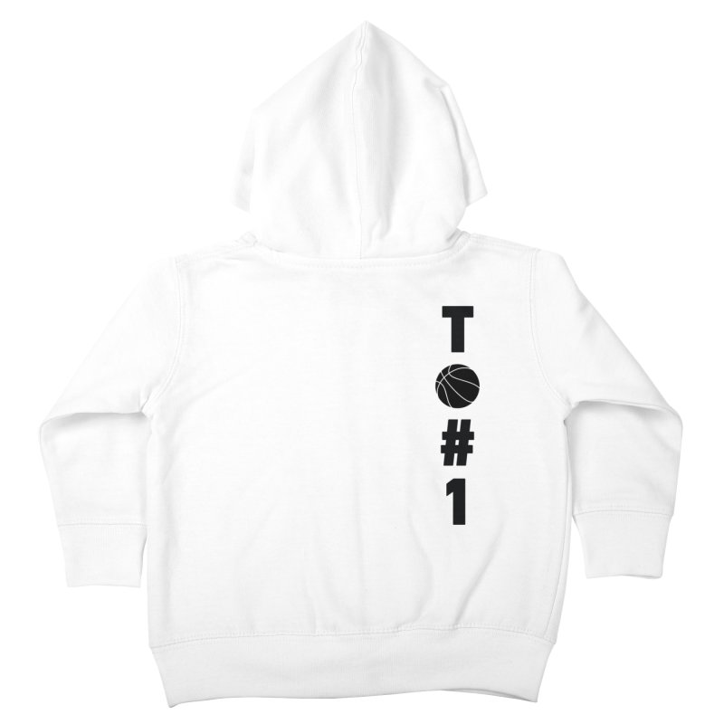 TO#1 Kids Toddler Zip-Up Hoody by toast designs