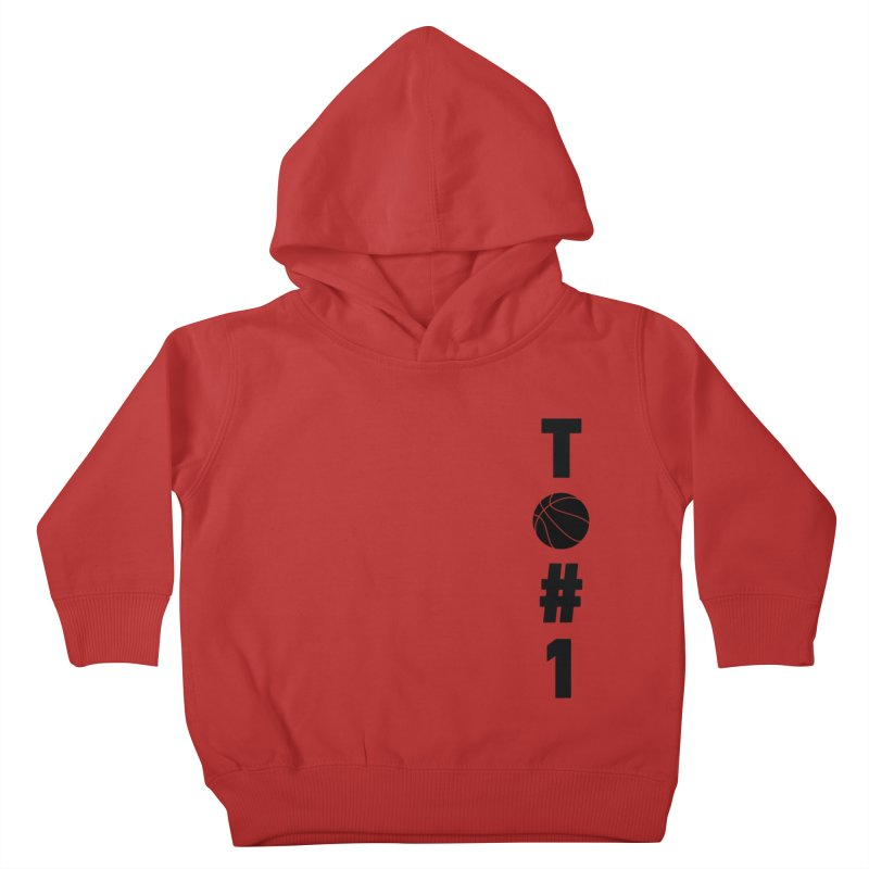 TO#1 Kids Toddler Pullover Hoody by toast designs