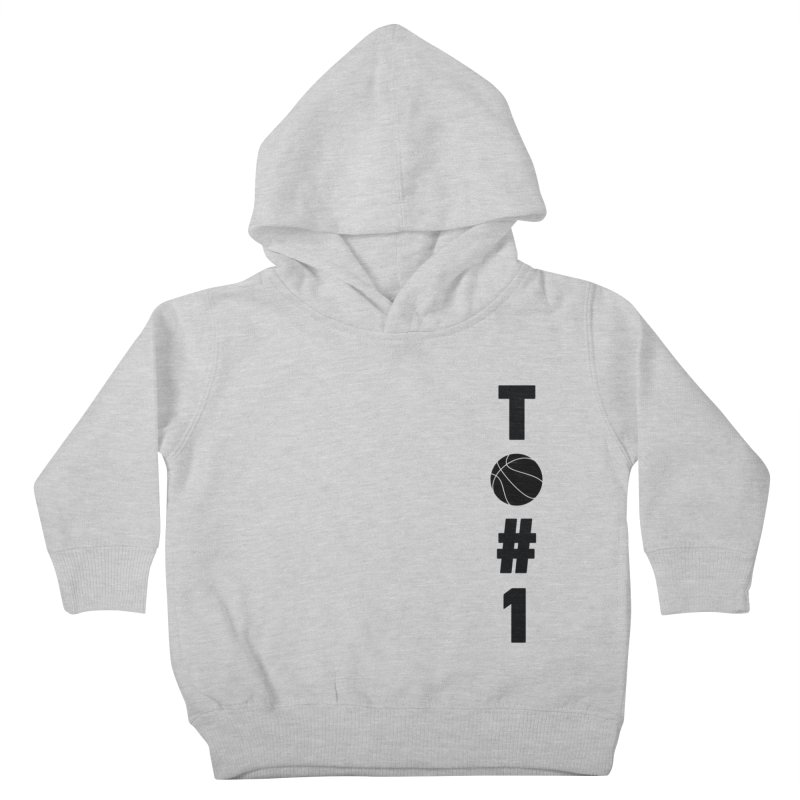 TO#1 in Kids Toddler Pullover Hoody Heather Grey by toast designs