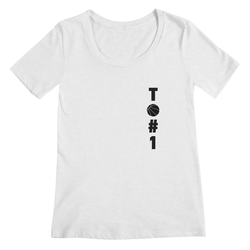 TO#1 Women's Regular Scoop Neck by toast designs