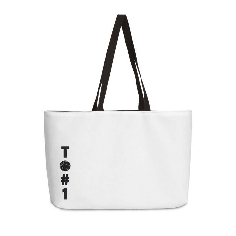 TO#1 Accessories Weekender Bag Bag by toast designs