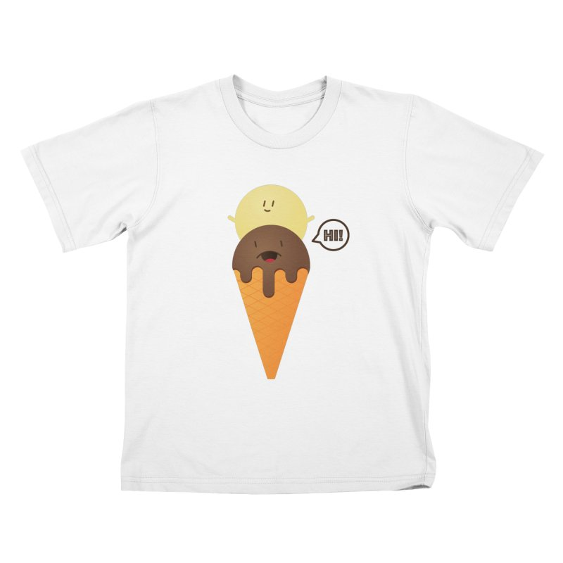 Icecream Kids T-Shirt by toast designs