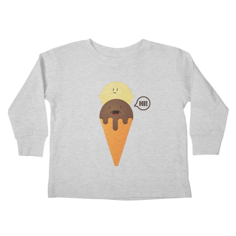 Icecream Kids Toddler Longsleeve T-Shirt by toast designs