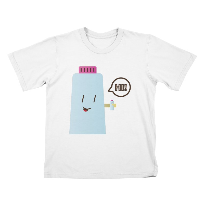 Waterbottle Kids T-Shirt by toast designs
