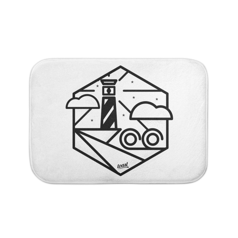 Lighthouse Home Bath Mat by toast designs