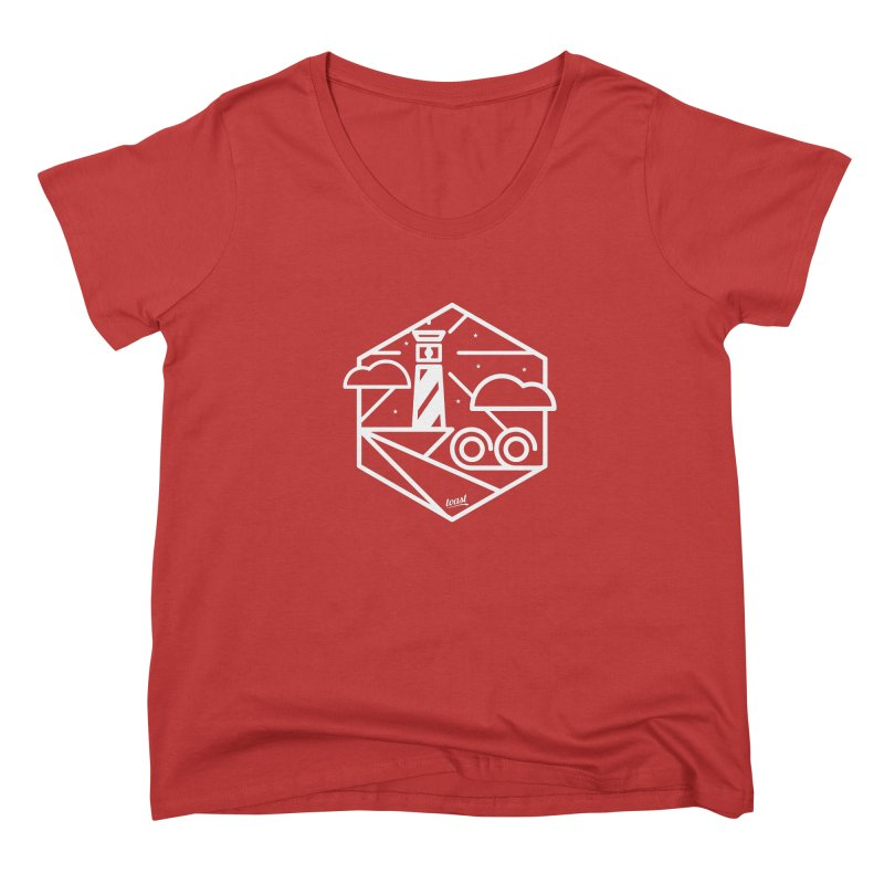 Lighthouse Women's Scoop Neck by toast designs