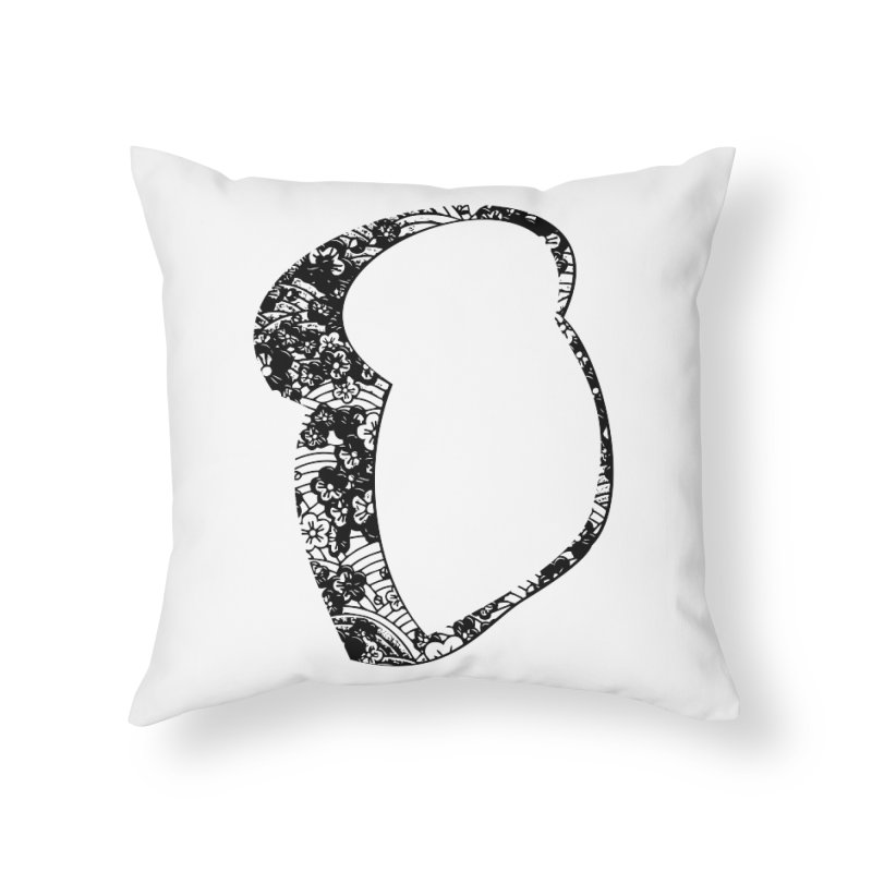 Flower Toast Home Throw Pillow by toast designs