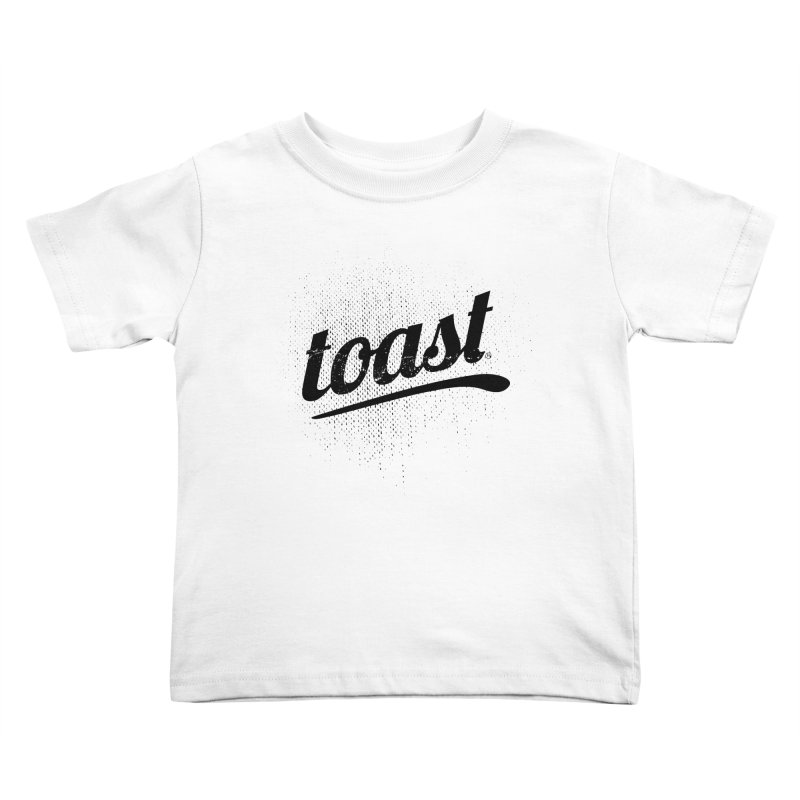 Toast Logo Brand Kids Toddler T-Shirt by toast designs