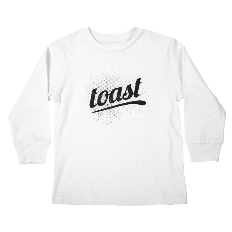 Toast Logo Brand Kids Longsleeve T-Shirt by toast designs