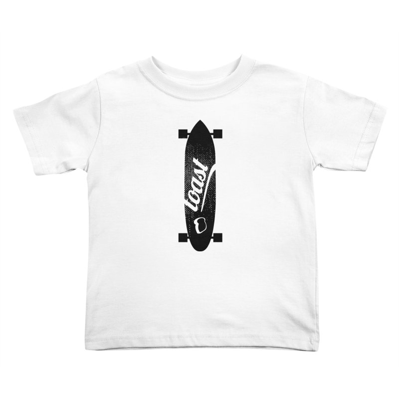 Toast Longboard Kids Toddler T-Shirt by toast designs