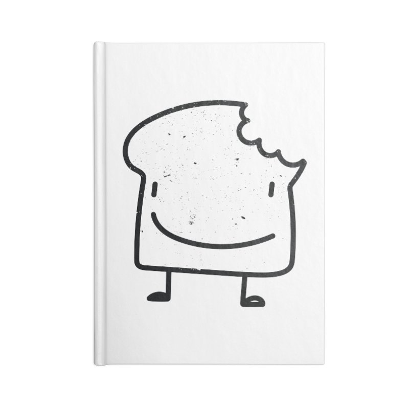 Toastito Accessories Blank Journal Notebook by toast designs