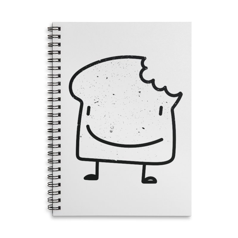 Toastito Accessories Lined Spiral Notebook by toast designs
