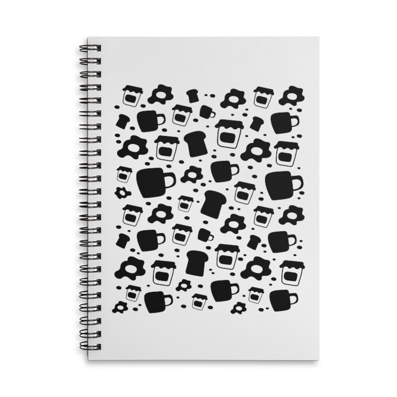 Breaky Time Accessories Notebook by toast designs