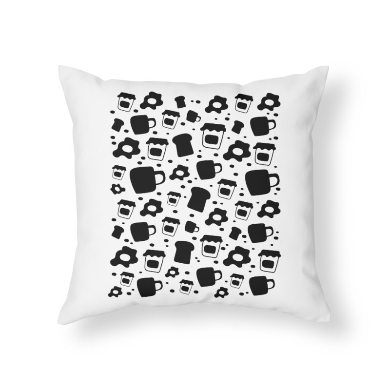 Breaky Time Home Throw Pillow by toast designs