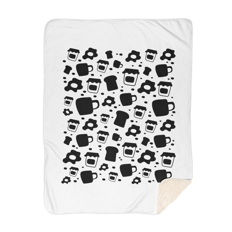 Breaky Time Home Blanket by toast designs