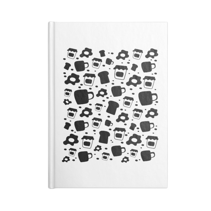Breaky Time Accessories Blank Journal Notebook by toast designs