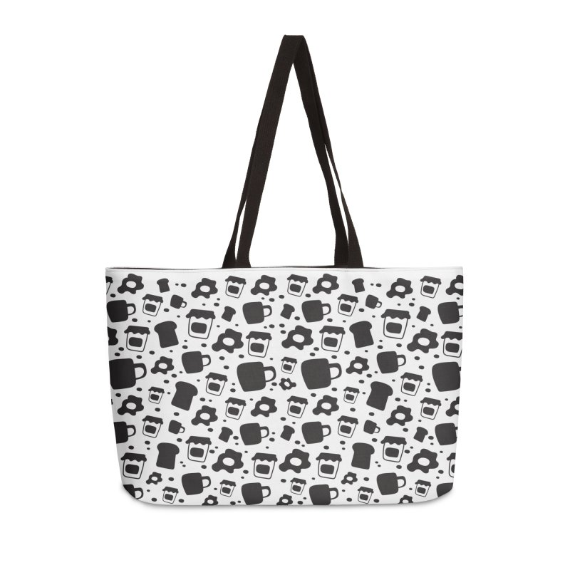 Breaky Time Accessories Weekender Bag Bag by toast designs