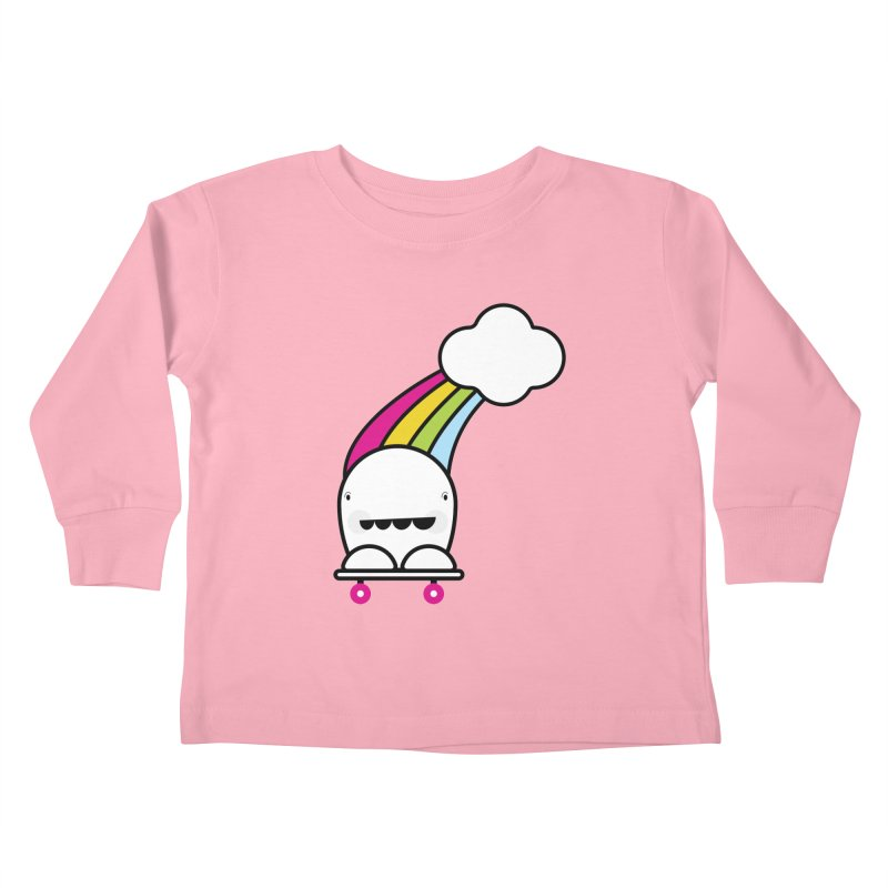 Rainbow day Kids Toddler Longsleeve T-Shirt by toast designs