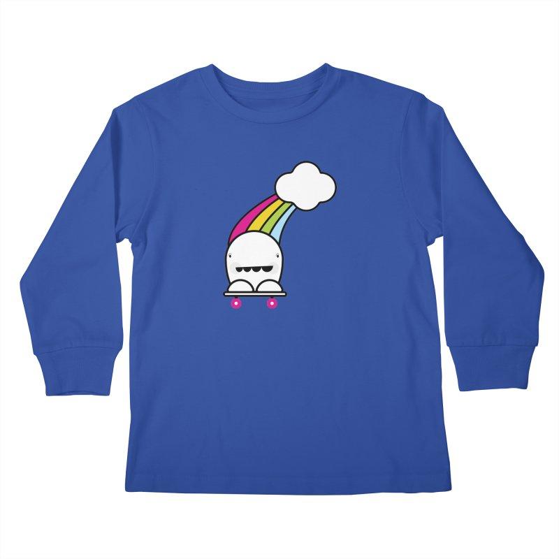 Rainbow day Kids Longsleeve T-Shirt by toast designs