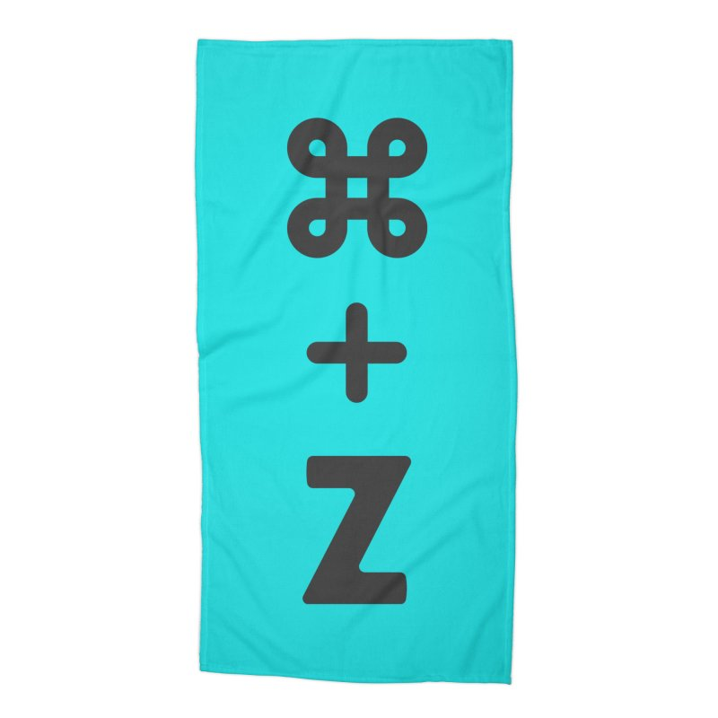Undo Accessories Beach Towel by toast designs