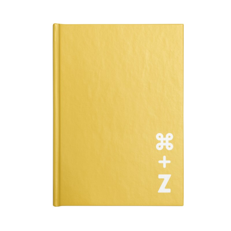 Undo Accessories Blank Journal Notebook by toast designs