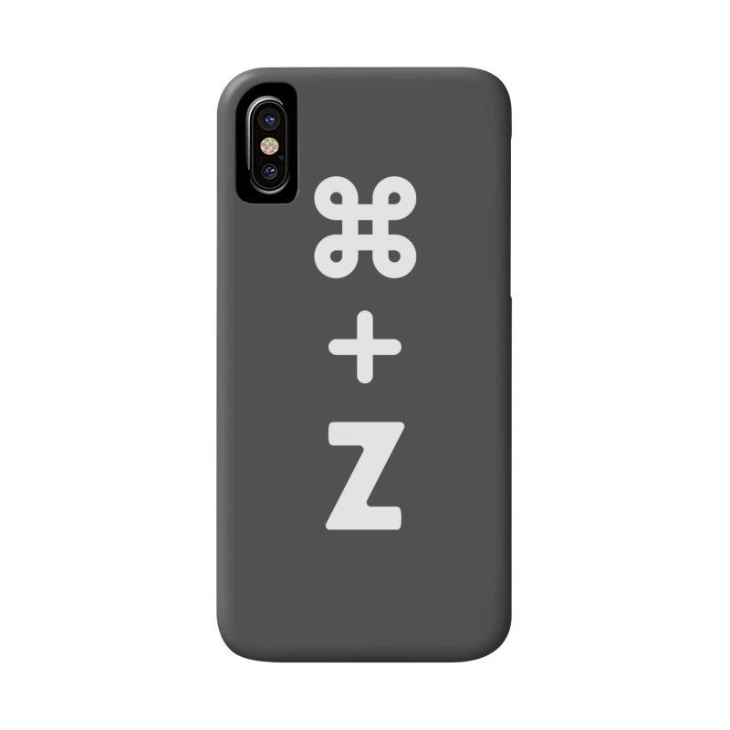 Undo in iPhone X Phone Case Slim by toast designs