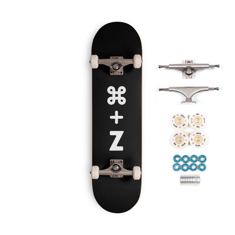 Undo Accessories Skateboard by toast designs