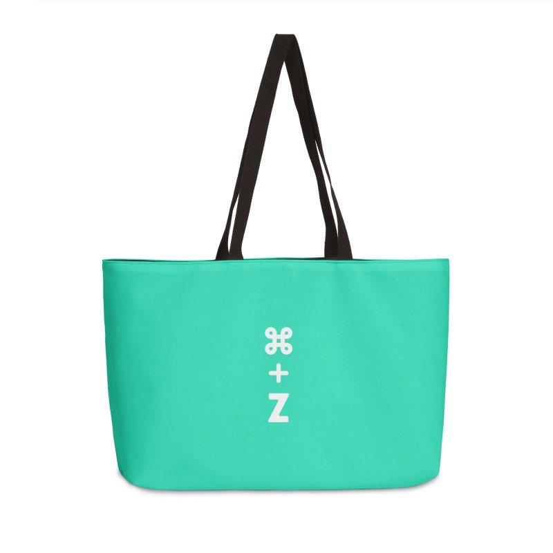 Undo in Weekender Bag by toast designs