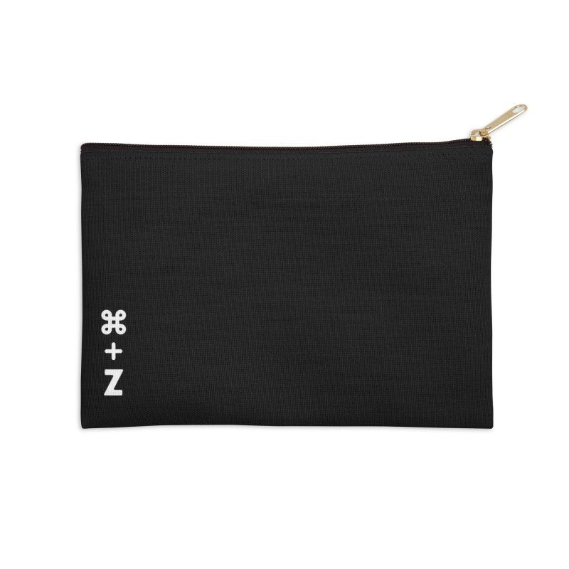 Undo Accessories Zip Pouch by toast designs