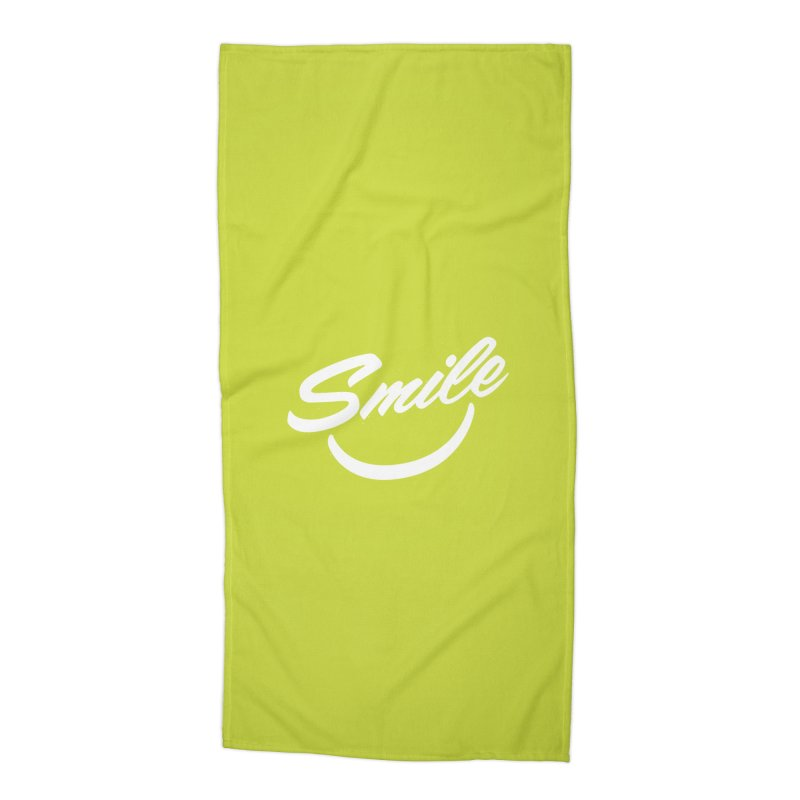 Smile Accessories Beach Towel by toast designs