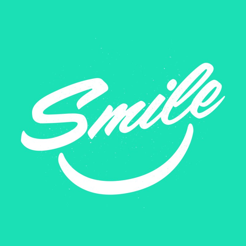 Smile Home Rug by toast designs