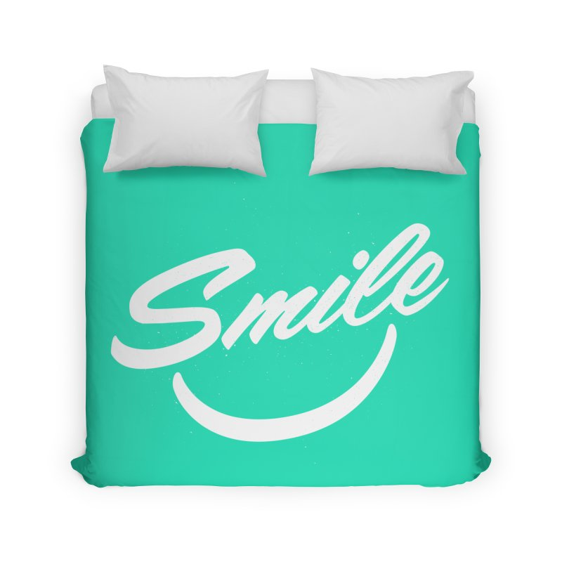Smile Home Duvet by toast designs