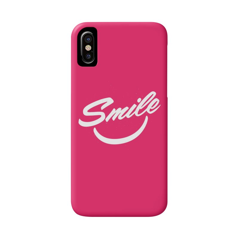 Smile Accessories Phone Case by toast designs