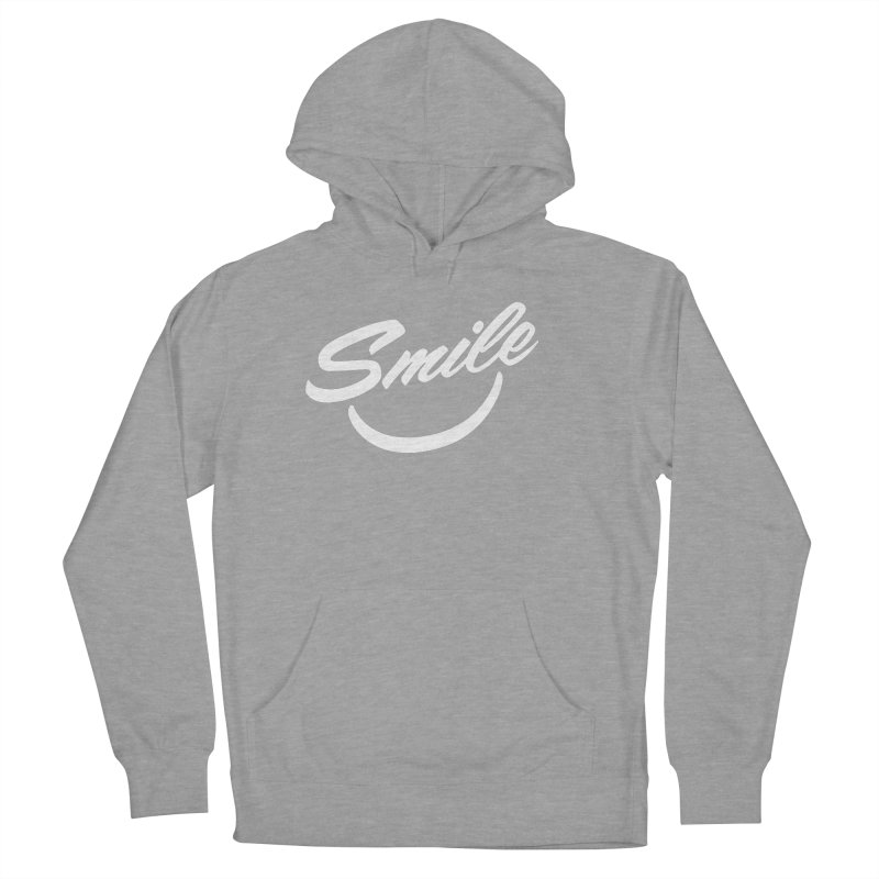 Smile Men's French Terry Pullover Hoody by toast designs