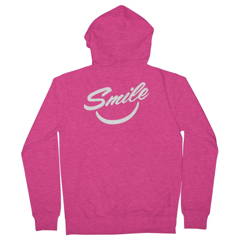 Smile Women's French Terry Zip-Up Hoody by toast designs
