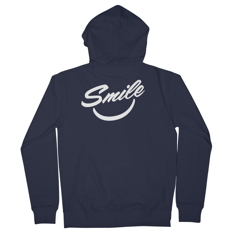 Smile Men's Zip-Up Hoody by toast designs