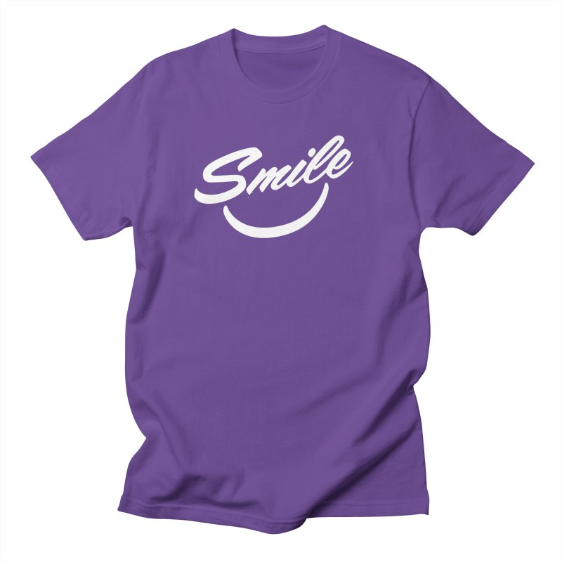 Smile Men's T-Shirt by toast designs