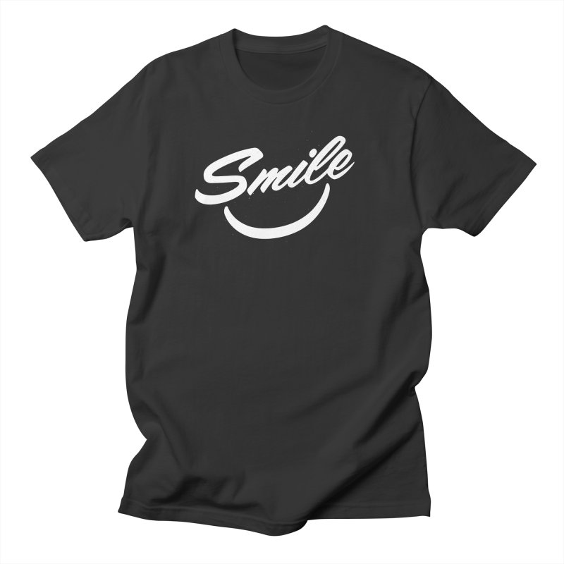 Smile Men's Regular T-Shirt by toast designs