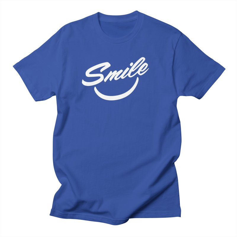 Smile Women's Regular Unisex T-Shirt by toast designs