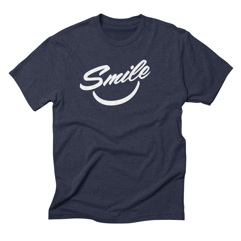 Smile Men's Triblend T-Shirt by toast designs
