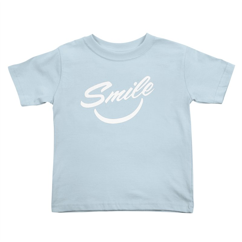 Smile Kids Toddler T-Shirt by toast designs